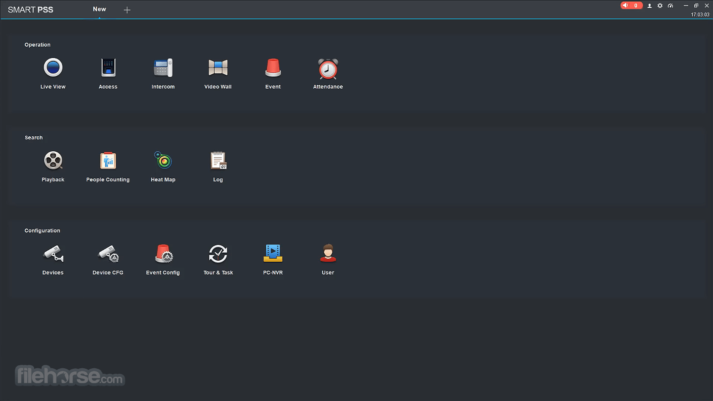 Dahua SmartPSS 2.03.0 (200413) Screenshot 1