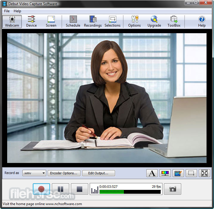 debut video capture software download