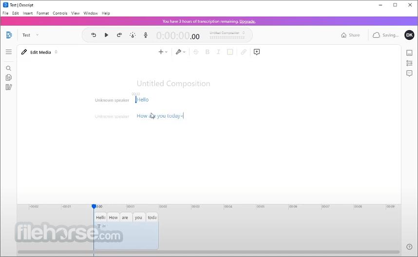 Descript 7.0.4 Screenshot 1