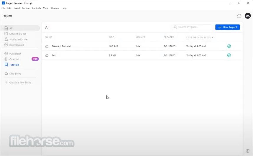 Descript 7.0.4 Screenshot 4