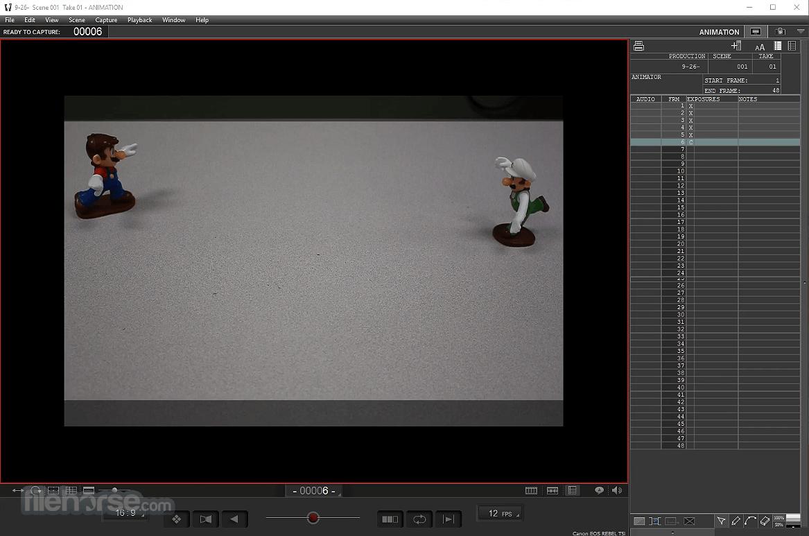 Dragonframe 4.2.5 Screenshot 1