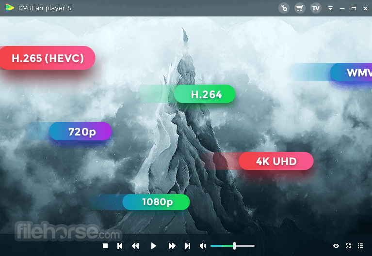 DVDFab Media Player Download (2019 Latest) for Windows 10, 8, 7