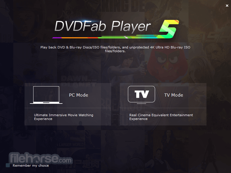 DVDFab Player 6.1.1.1 Captura de Pantalla 2