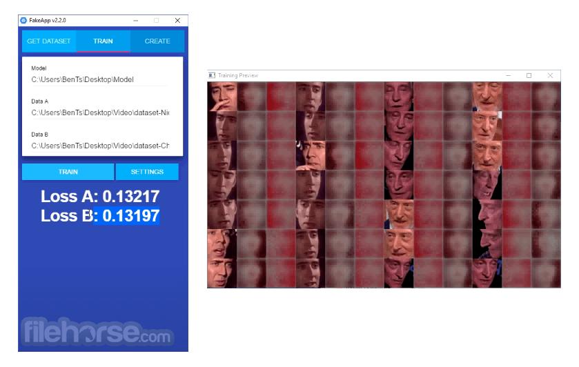 FakeApp 2.2 Screenshot 3