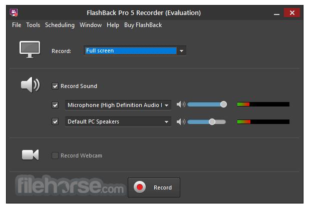 FlashBack Pro 5.27.0 Build 4280 Screenshot 2