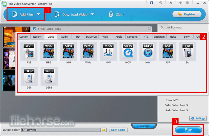 registration key for hd video converter factory pro