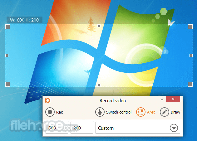 IceCream Screen Recorder 5.10 Screenshot 2
