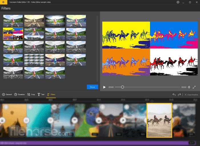 Icecream Video Editor 2.45 Captura de Pantalla 3
