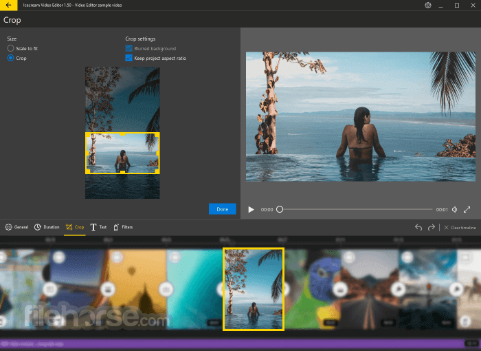 Icecream Video Editor 2.45 Captura de Pantalla 4