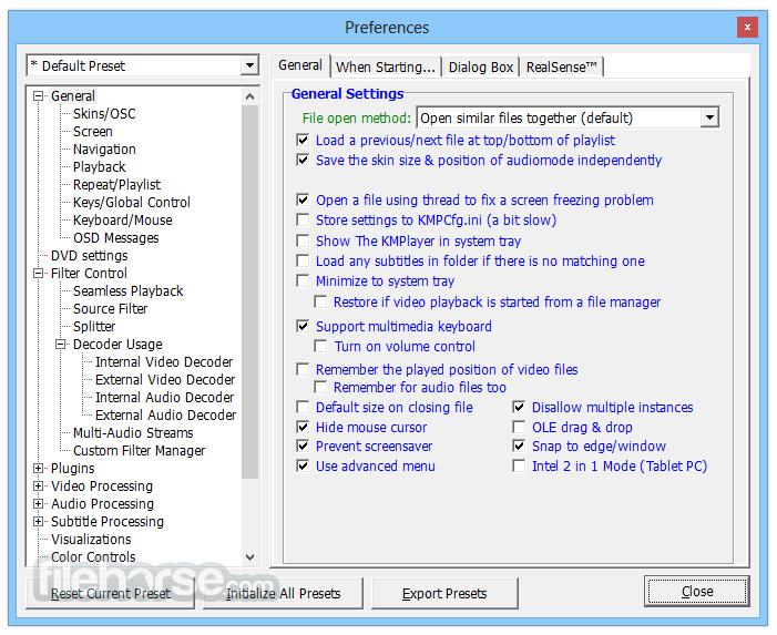 KMPlayer 4.2.2.6 Captura de Pantalla 5