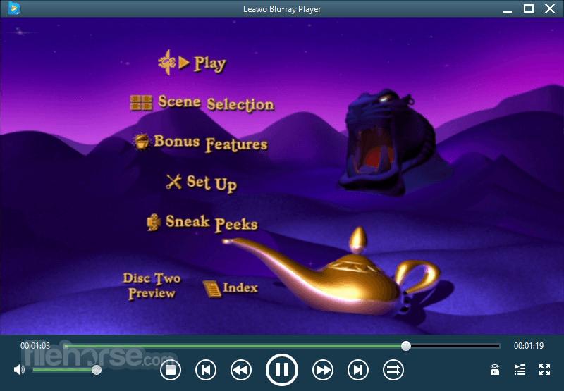 Leawo Blu-ray Player 2.2.0.1 Screenshot 2