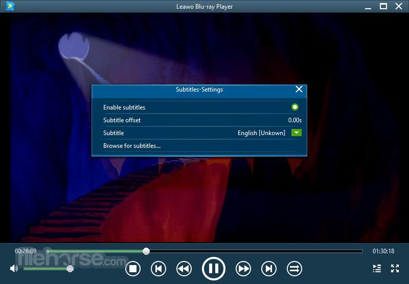 Leawo Blu-ray Player 2.2.0.1 Screenshot 4