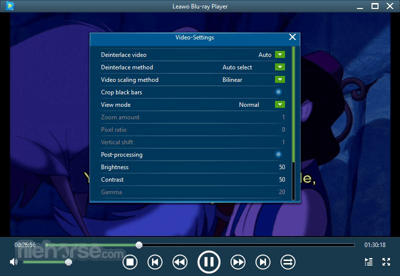 Leawo Blu-ray Player 2.2.0.1 Screenshot 5