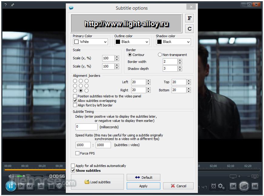 Light Alloy 4.10.2 Screenshot 5