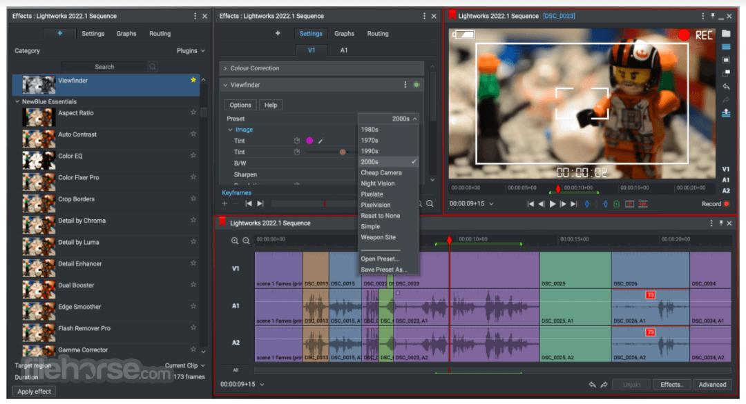 Lightworks 14.0.0 (64-bit) Captura de Pantalla 1