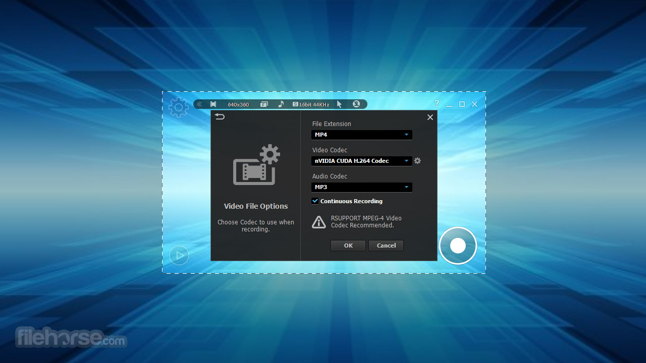 liteCam HD 5.5.0.2 Captura de Pantalla 2