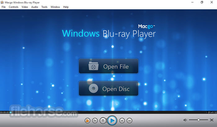 Macgo Windows Blu-ray Player 2.17.2.2614 Screenshot 1