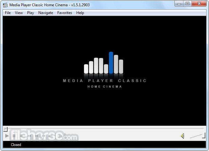 Media Player Classic Home Cinema 1.8.3 (64-bit) Screenshot 1