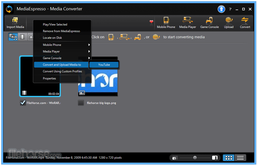 MediaEspresso 7.5.10422 Screenshot 2