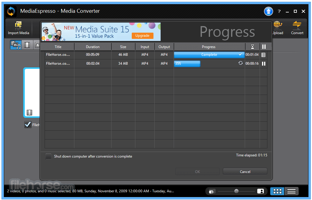MediaEspresso 7.5.10422 Screenshot 5