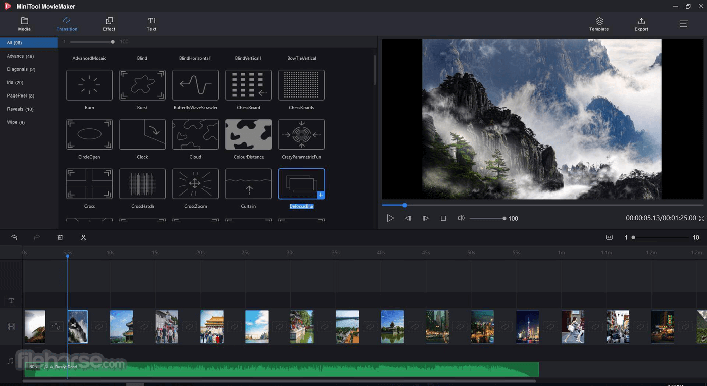 MiniTool MovieMaker Free 2.2 Screenshot 2