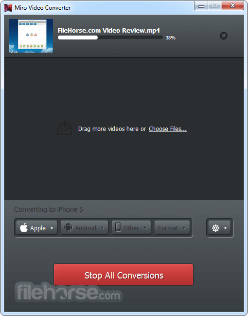 Miro Video Converter 3.0 Screenshot 3