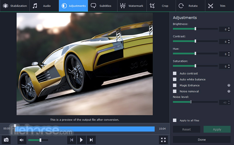 Movavi Video Converter 18.1.0 Screenshot 4