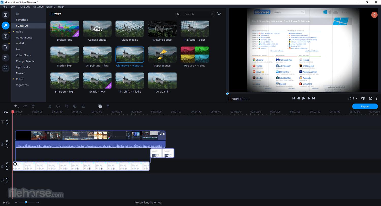 تحميل وتفعيل برنامج Movavi Video Suite لتحرير فيديوهات احترافية