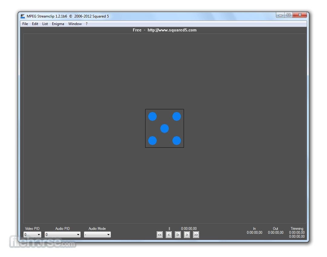 MPEG Streamclip 1.2.1 Beta 6 Captura de Pantalla 1