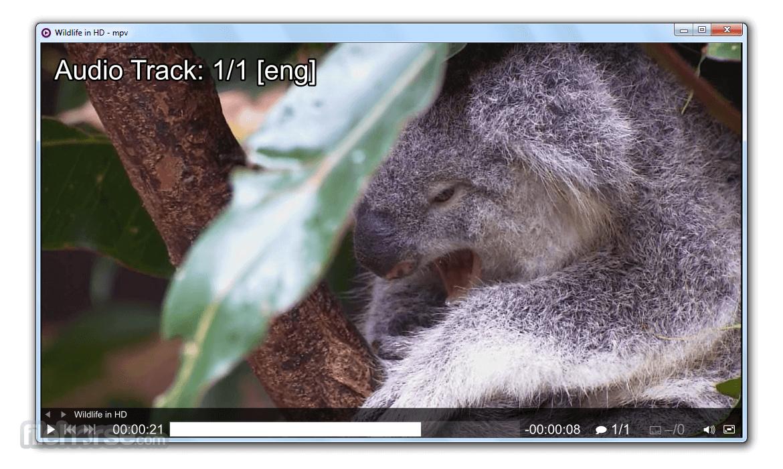 MPV Player 0.33.0 (32-bit) Screenshot 2