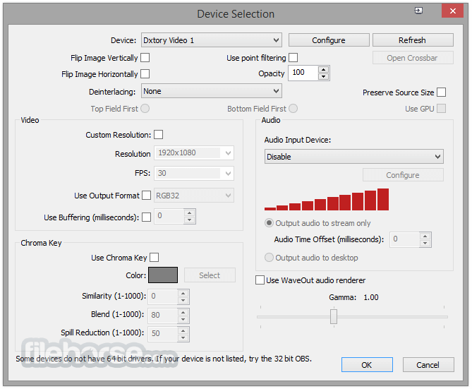 Open Broadcaster Software 0.659 Beta Screenshot 5