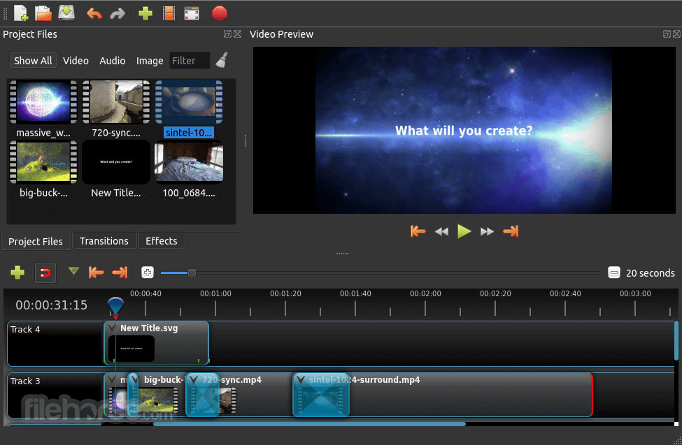 openshot video editor 241 download for windows