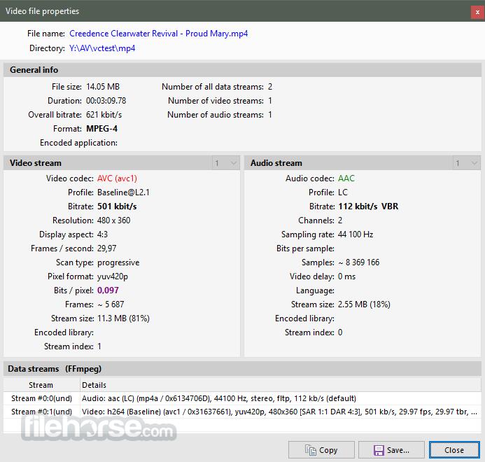 Pazera Free MP4 to AVI Converter Portable 1.13 (64-bit) Captura de Pantalla 3