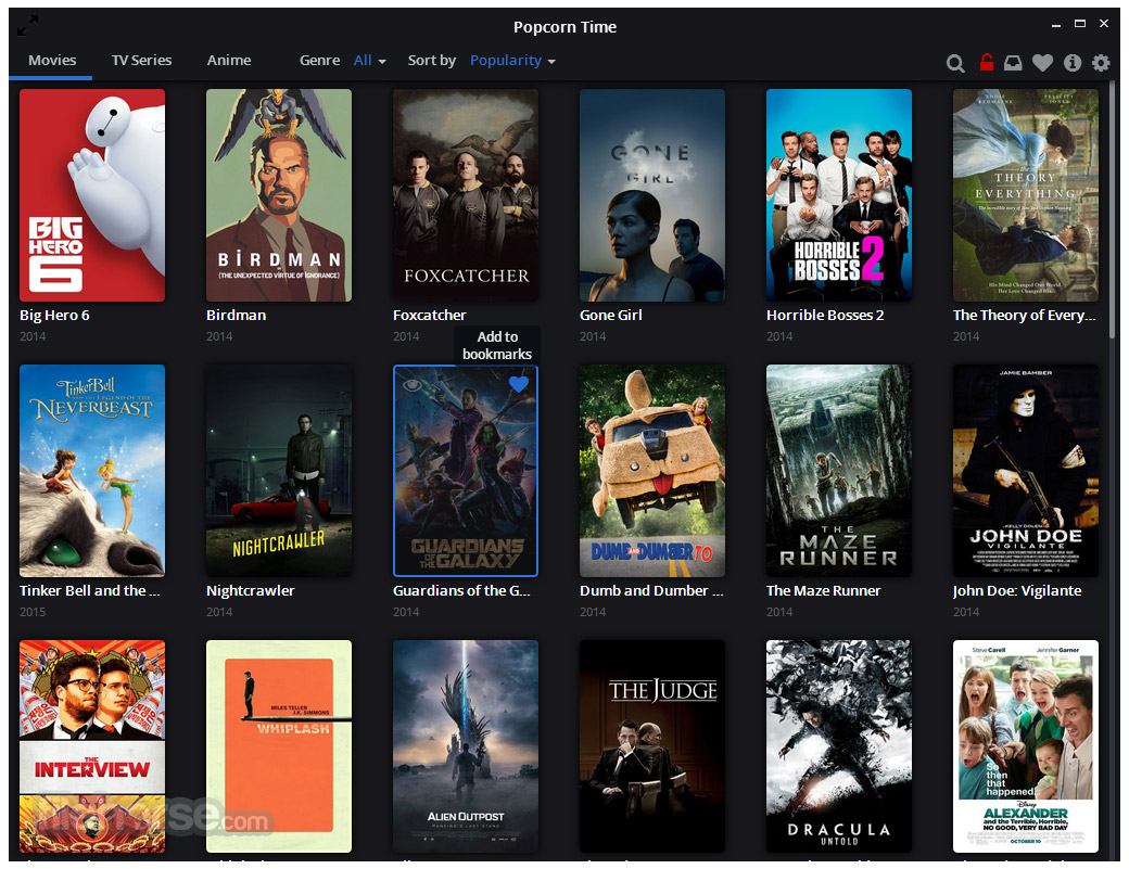 Popcorn Time Download 2021 Latest For Windows 10 8 7