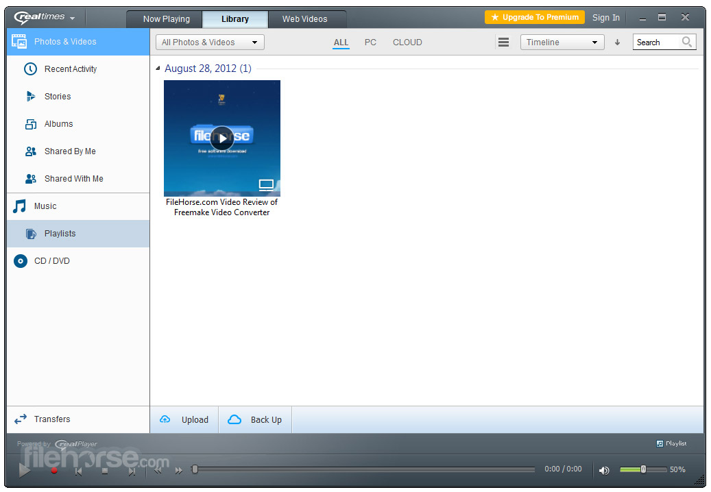 RealPlayer 18.1.14.202 Captura de Pantalla 2