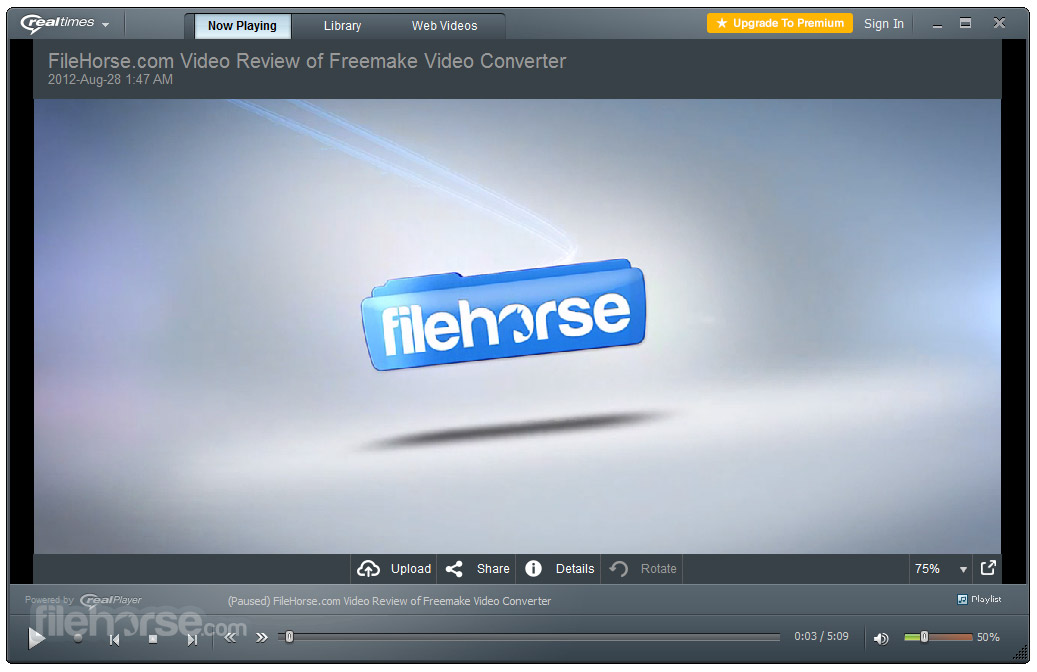 RealPlayer 18.1.14.202 Captura de Pantalla 3