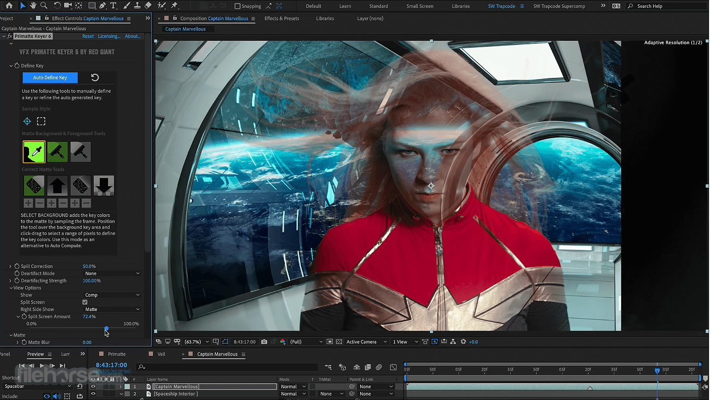 Red Giant VFX Suite 1.5.0 Captura de Pantalla 3