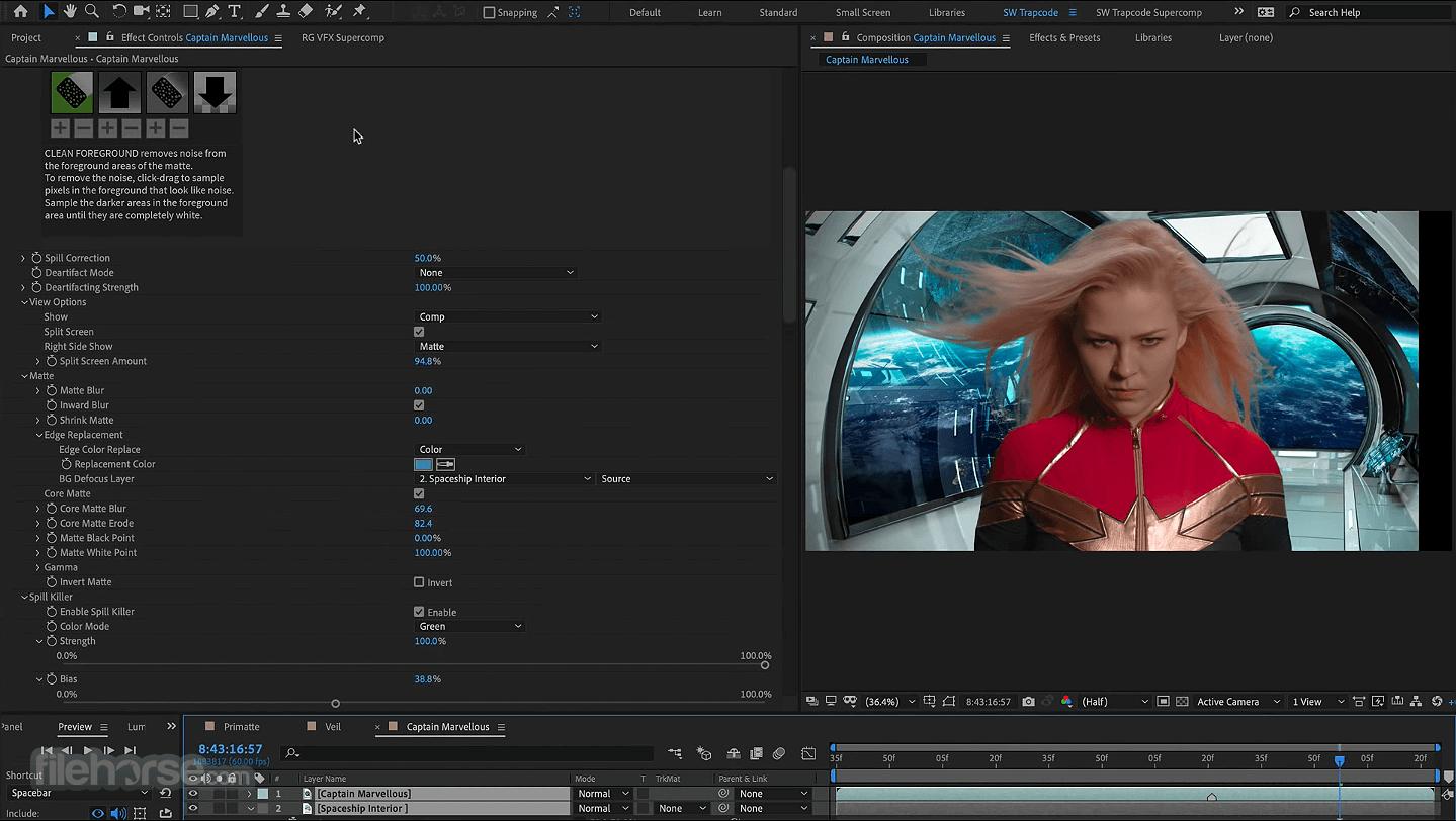 Red Giant VFX Suite 1.5.0 Captura de Pantalla 5
