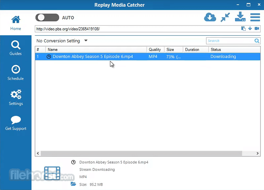 Replay Media Catcher 7.0.21.0 Screenshot 1