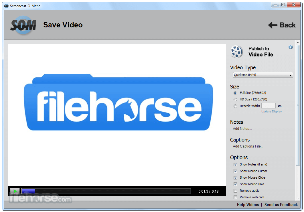 Screencast-O-Matic 2.0 Screenshot 4