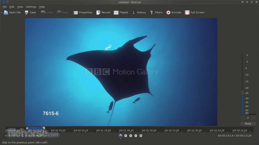 Shotcut 17.11 (64-bit) Screenshot 1