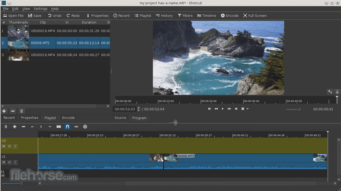Shotcut 17.06 (64-bit) Screenshot 3