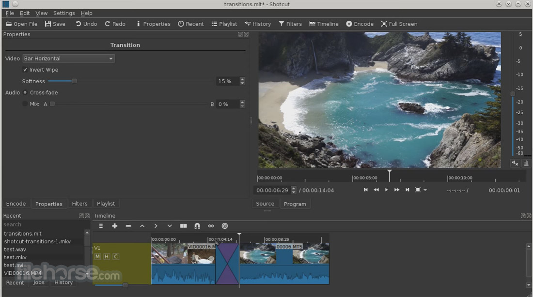 Shotcut 17.11 (64-bit) Screenshot 5