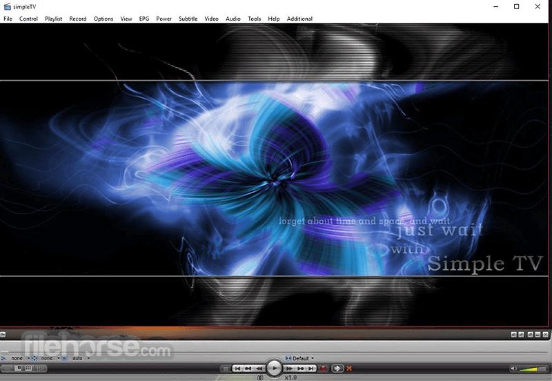 SimpleTV 0.5.0 b12 (32-bit) Captura de Pantalla 1