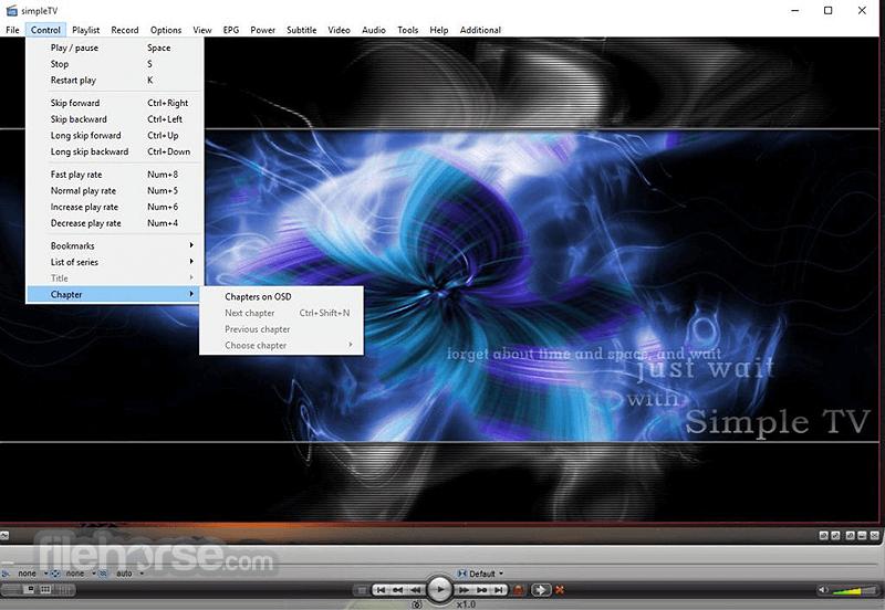 SimpleTV 0.5.0 b12 (32-bit) Captura de Pantalla 2
