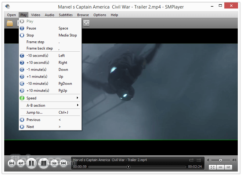 SMPlayer Portable 18.4.0.0 (32-bit) Captura de Pantalla 2