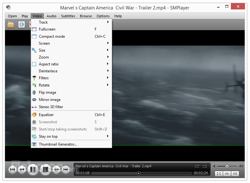 SMPlayer Portable 18.4.0.0 (32-bit) Captura de Pantalla 3