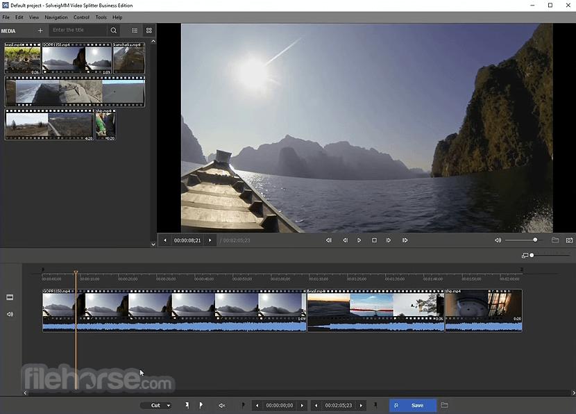 SolveigMM Video Splitter Home Edition 7.6.2106.09 Captura de Pantalla 1