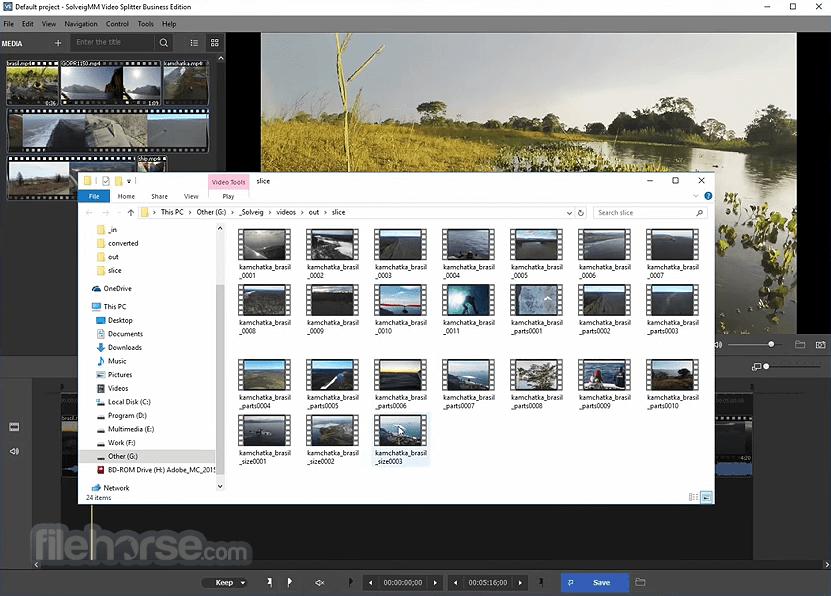 SolveigMM Video Splitter Home Edition 7.6.2106.09 Captura de Pantalla 3