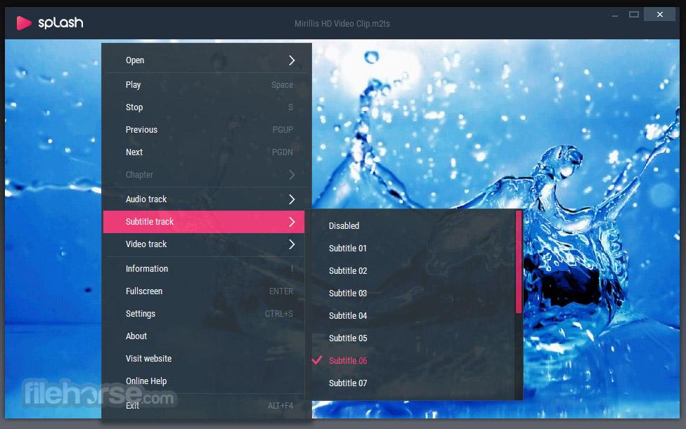 Splash 2.1.0 Screenshot 3